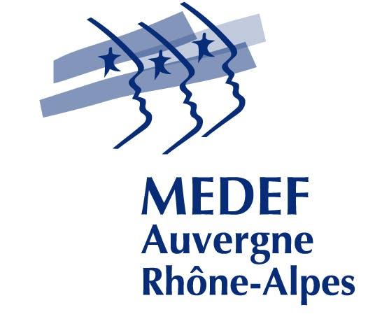 Logo Medef Auvergnerhone Alpes