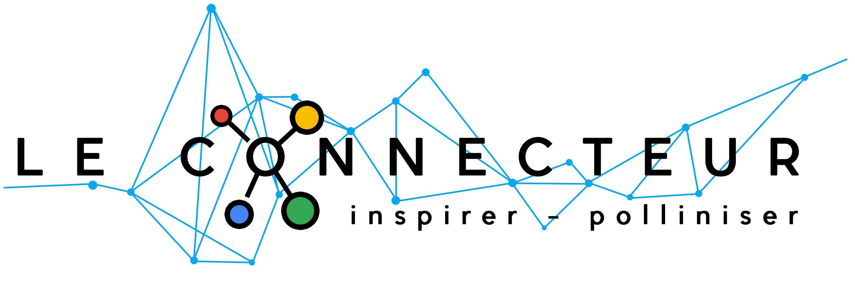 Cropped Logo Connecteur Texte Noir Fond Blanc Hd