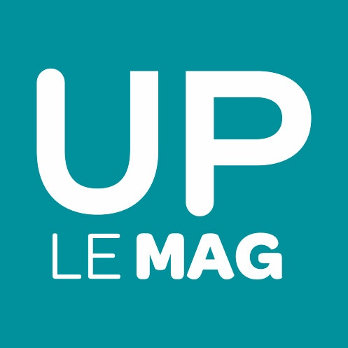 Up Le Mag Logo 2015 Vertical Bleu